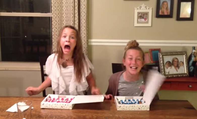 Big Sisters this baby announcement reaction is a must see – Sibling Announcing New Baby
