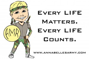Annabelle Every Life Counts 51346671211687_o