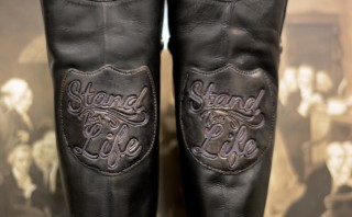 Pro-life boots replace Abortion Barbie's pink shoes in Texas Senate