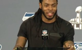 "Seahawks Richard Sherman on possibility of Super Bowl baby, ""I would not like to miss the birth my first son"""