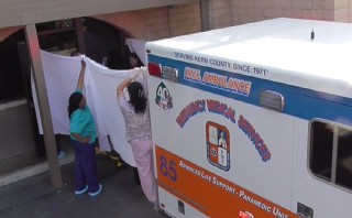 Ambulance transfers patient from California abortion clinic