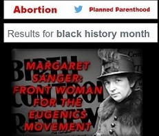 Black History Month exposes abortion and Planned Parenthood on Twitter