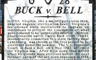 Victims of Va. eugenics sterilization law to be compensated