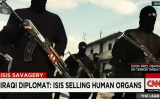 How is ISIS harvesting human organs different from abortion industry?