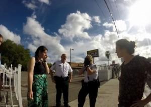 Police officer okay for abortion to spray prolife Survivors