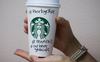"Pro-lifers join Starbucks' ""race together"" convo to expose Black genocide from abortion"