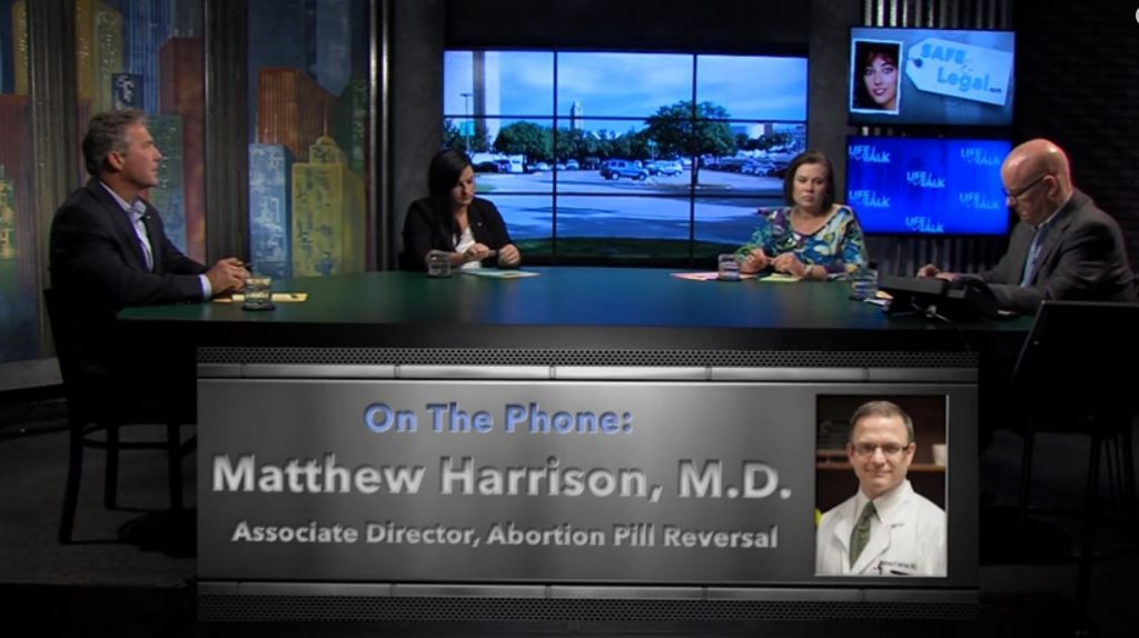 Dr Matthew Harrison MD Abortion Pill Reversal Life Talk April 2015