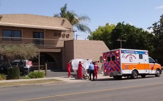 Third ambulance called to California abortion clinic in past few months