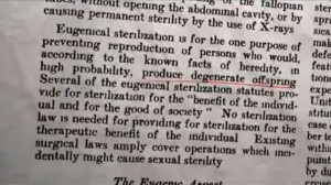 Harry Laughlin forced sterilization Margaret Sanger Birth Control Review 1928 eugenics degenerate offspeing