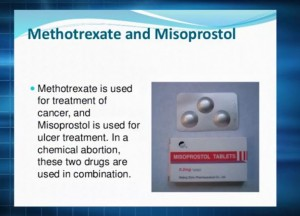 Methotrexate and Misprostol