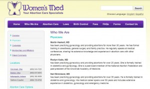 Womens Medical Abortion clinic