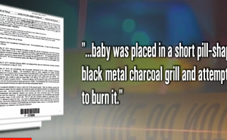 Teen beat to force an abortion and cover rape;  baby burned