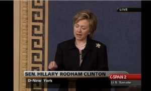 Hillary CLinton Partial Birth Abortion debate 2003 2