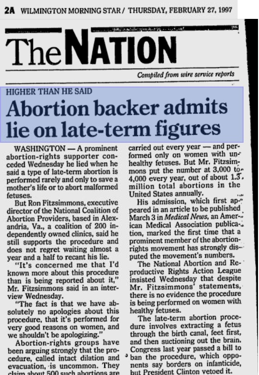 "negative opinion about abortion By priscilla coleman, phd on november 7th, the washington post published an opinion by dr brenda major titled ""the big lie about abortion an."