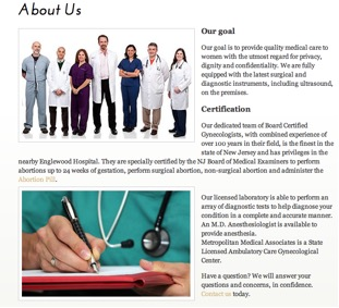 metropolitan-medical-associates-website