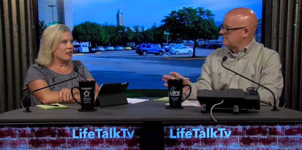 "On Episode 40 of LifeTalk, Hosts Mark Crutcher and Renee Hobbs introduced the new video - ""It's Just A Choice""."