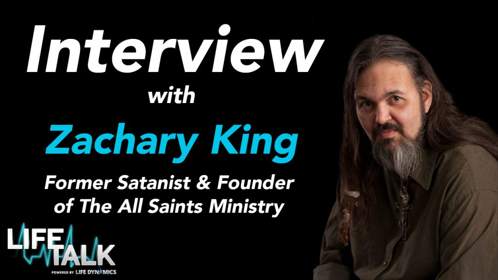 Take a moment and watch our interview with former satanist, Zachary King. (satanism)