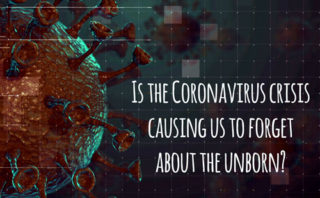 Is the Coronavirus crisis causing us to forget about the unborn?