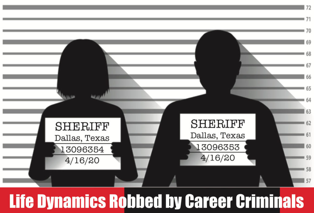 Life Dynamics Robbed By Career Criminals!